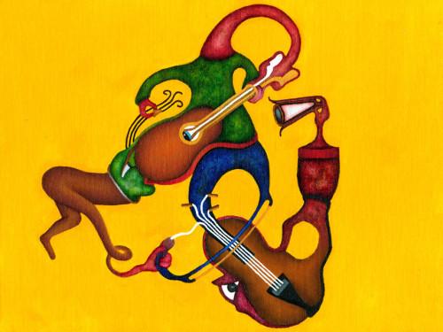 A Multi-Instrumentalist's Self-Performance